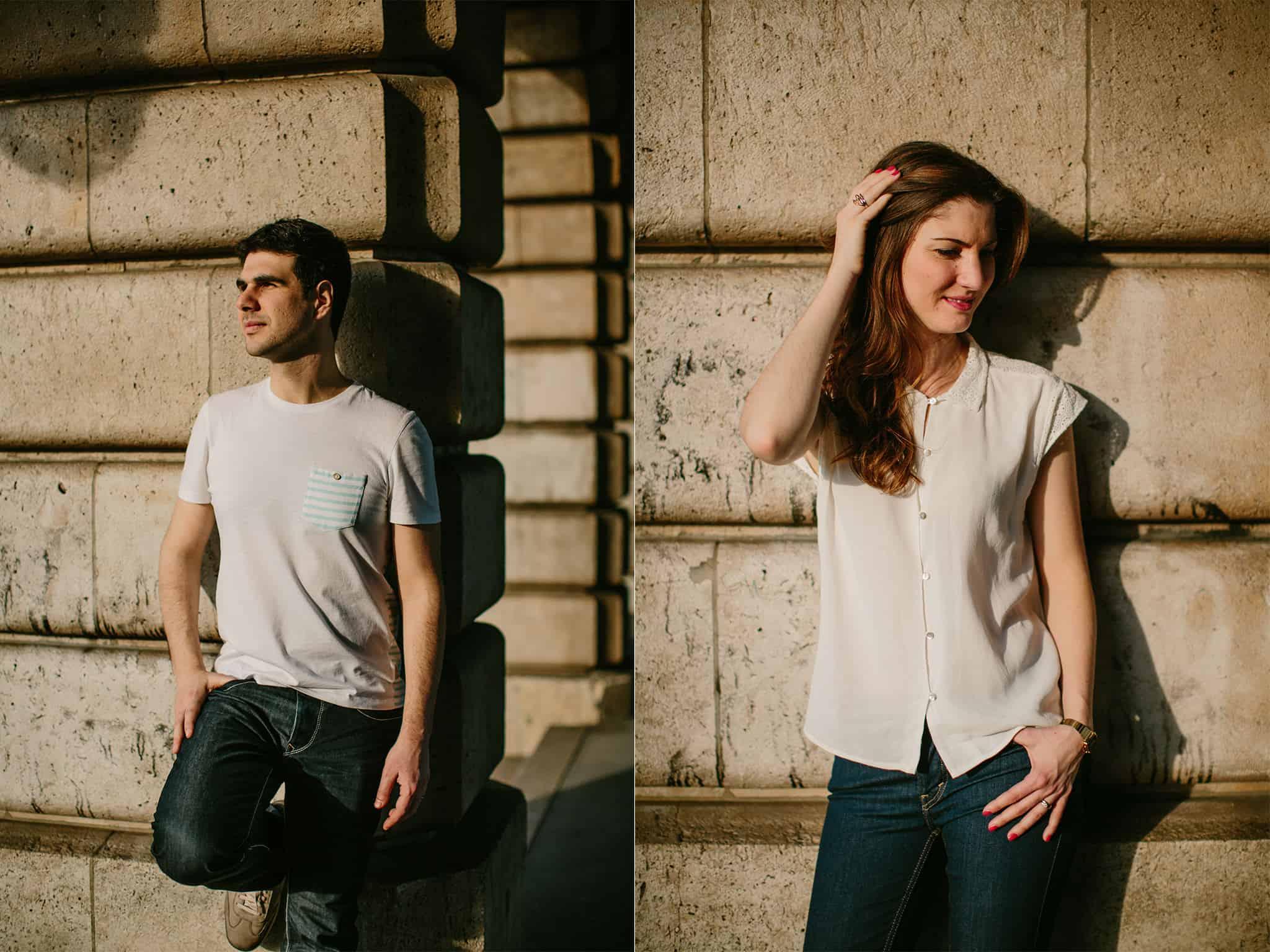 Sebastien Bicard • Paris Wedding Photography •Nathalie and Bruno • Paris, France-28
