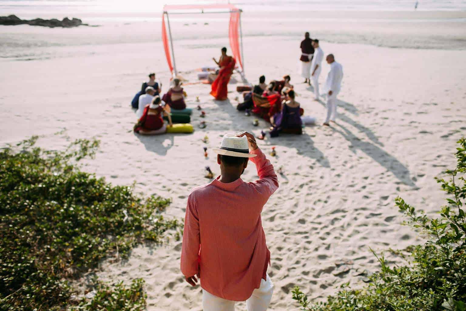 Destination beach wedding Goa India