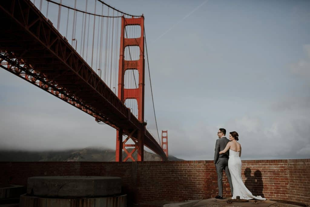 san francisco wedding photography fort point