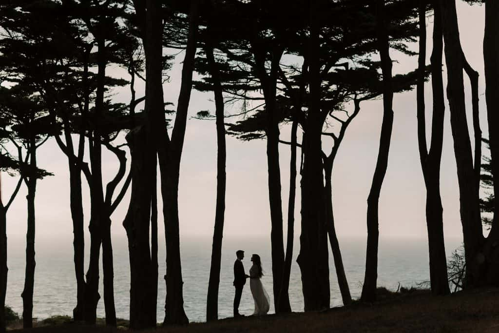 bay area land's end wedding photography