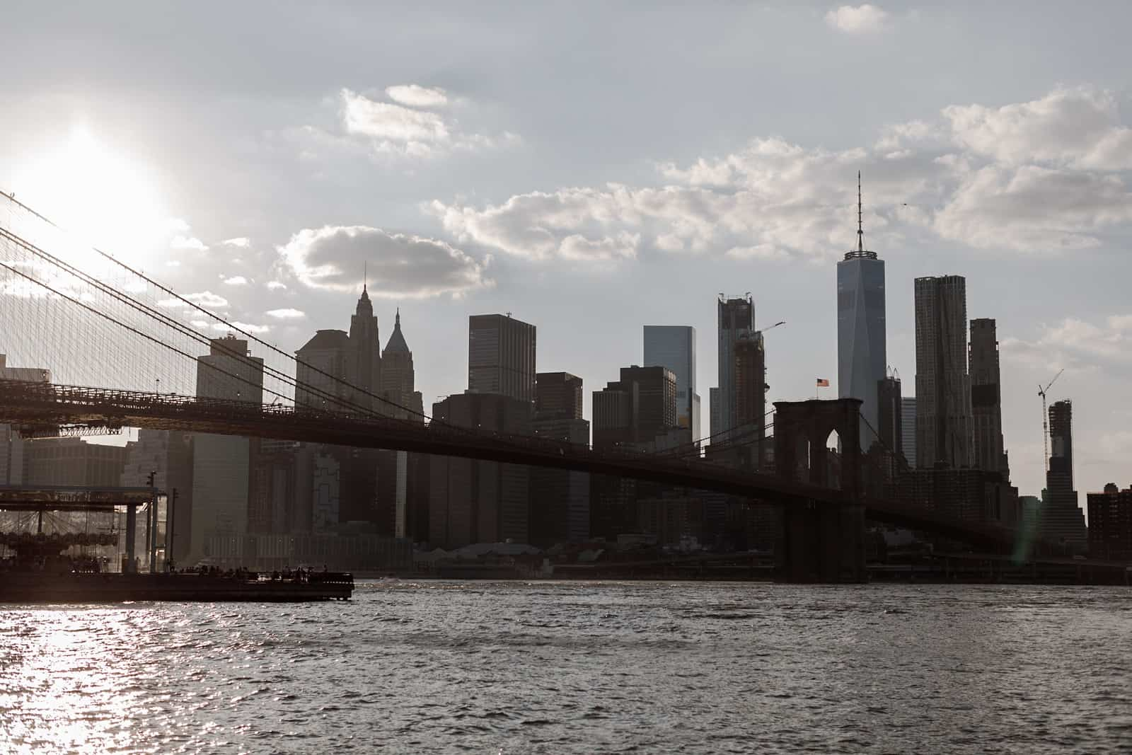 new york skyline and brooklyn engagement photography 0017