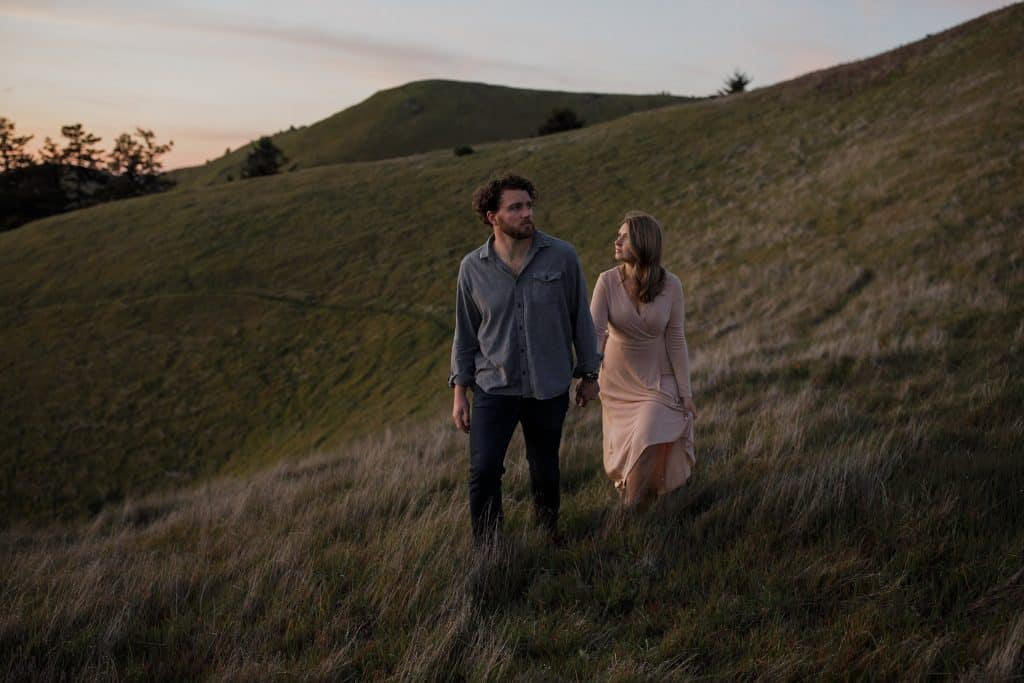 Mount Tamalpais Adventure Wedding Photographer
