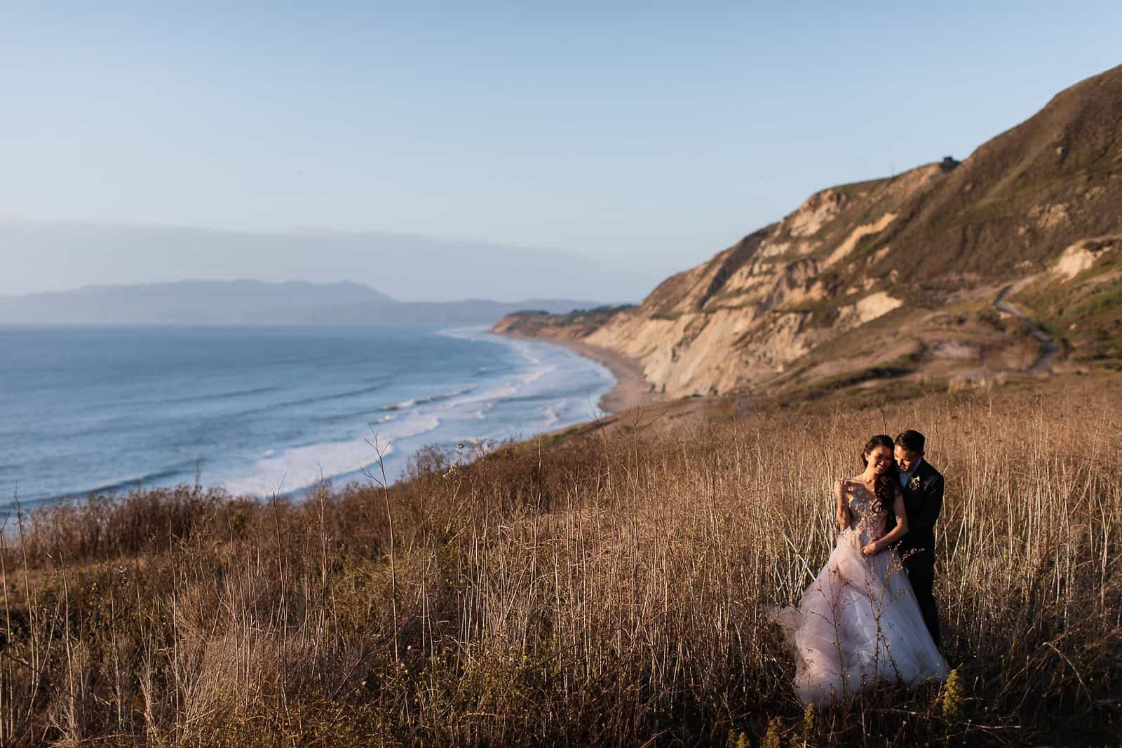 intimate coastal wedding san francisco 45