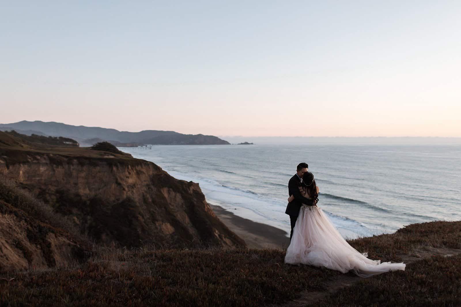 intimate coastal wedding san francisco 53