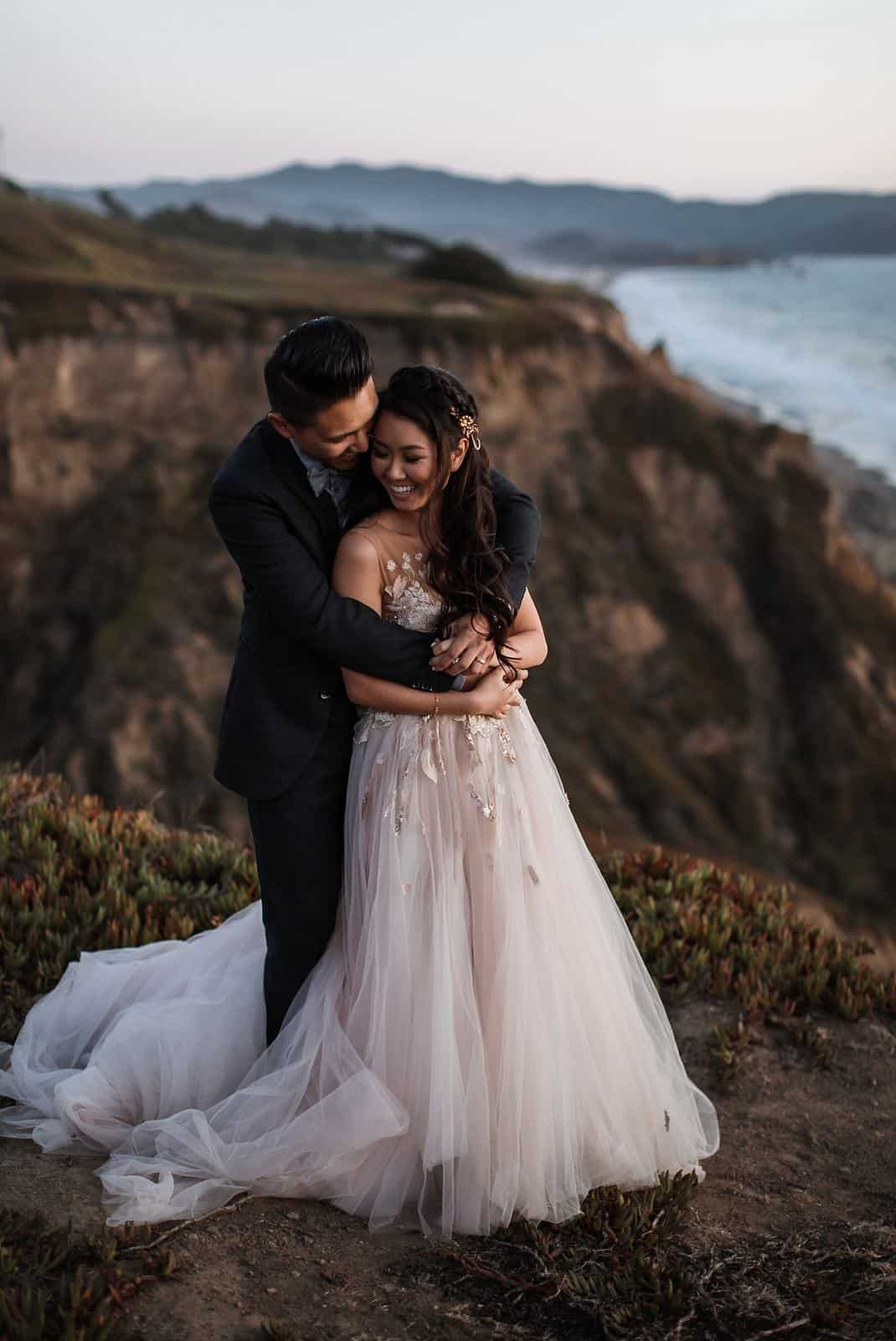 intimate coastal wedding san francisco 56