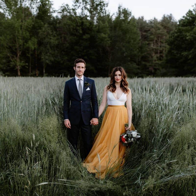 Callie and Jason New Hampshire Wedding Cover