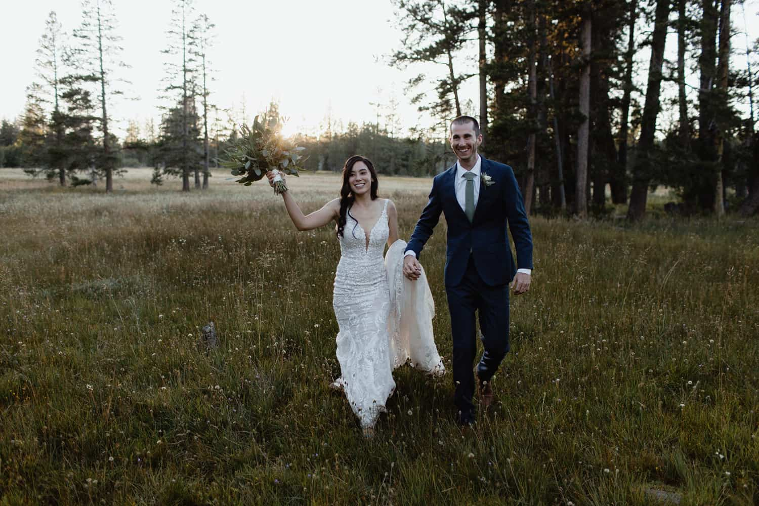 Golden Hour Tahoe Wedding Photos-10