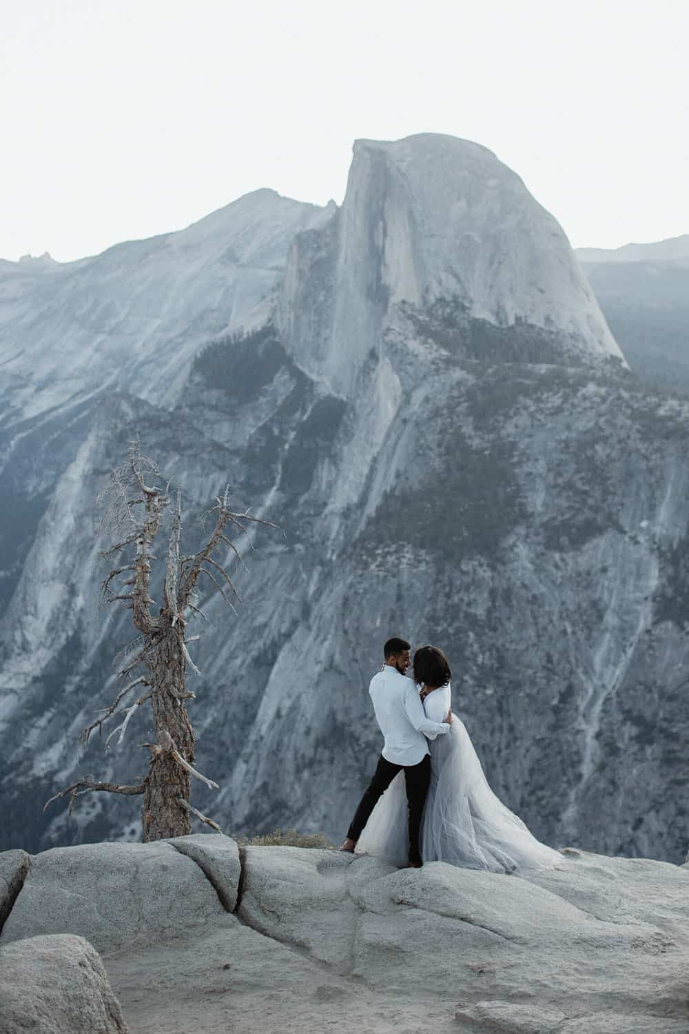 Blue Hour Yosemite Wedding Photos-5