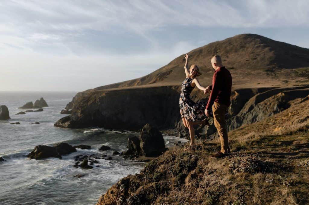Goat Rock Beach Jenner Engagement session