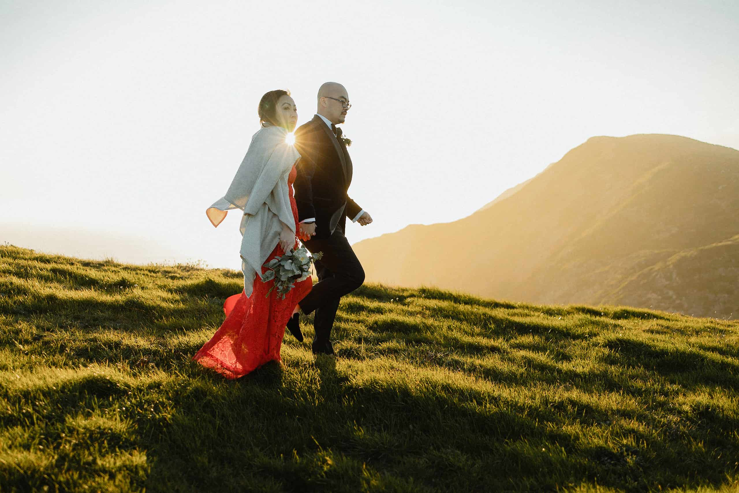 Sunset Point Reyes Elopement