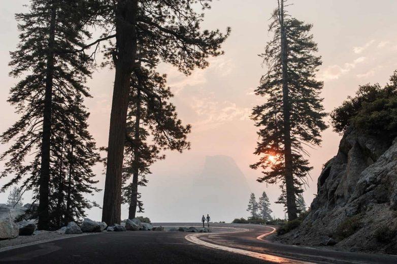 Incredible Glacier Point Yosemite Engagement Photos