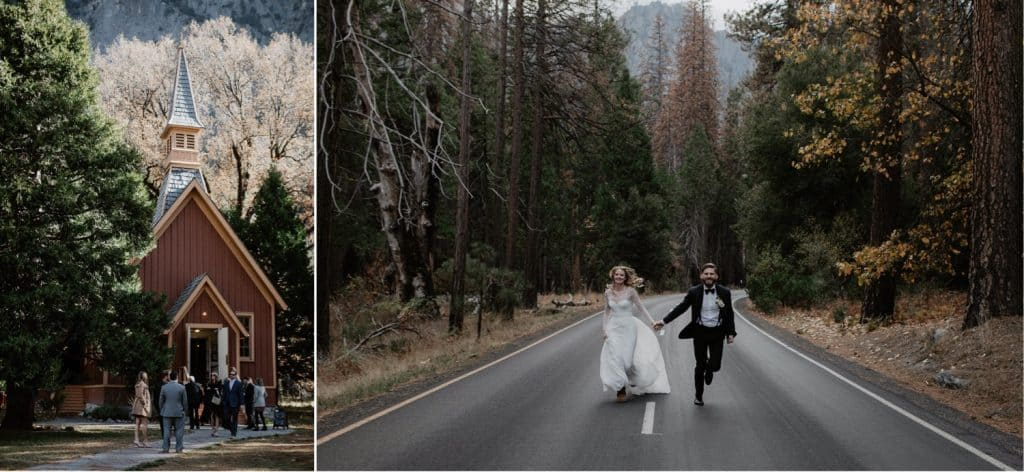 Yosemite Wedding Venues-Valley Chapel Wedding Photographer