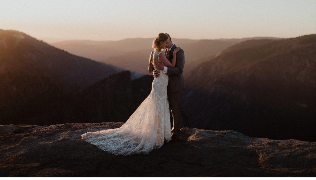 Yosemite Wedding Venues-Taft Point Wedding Photographer