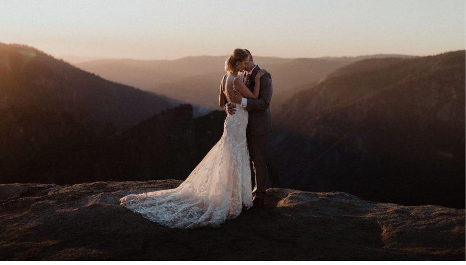 Yosemite Wedding Venues-Taft Point Wedding Photographer