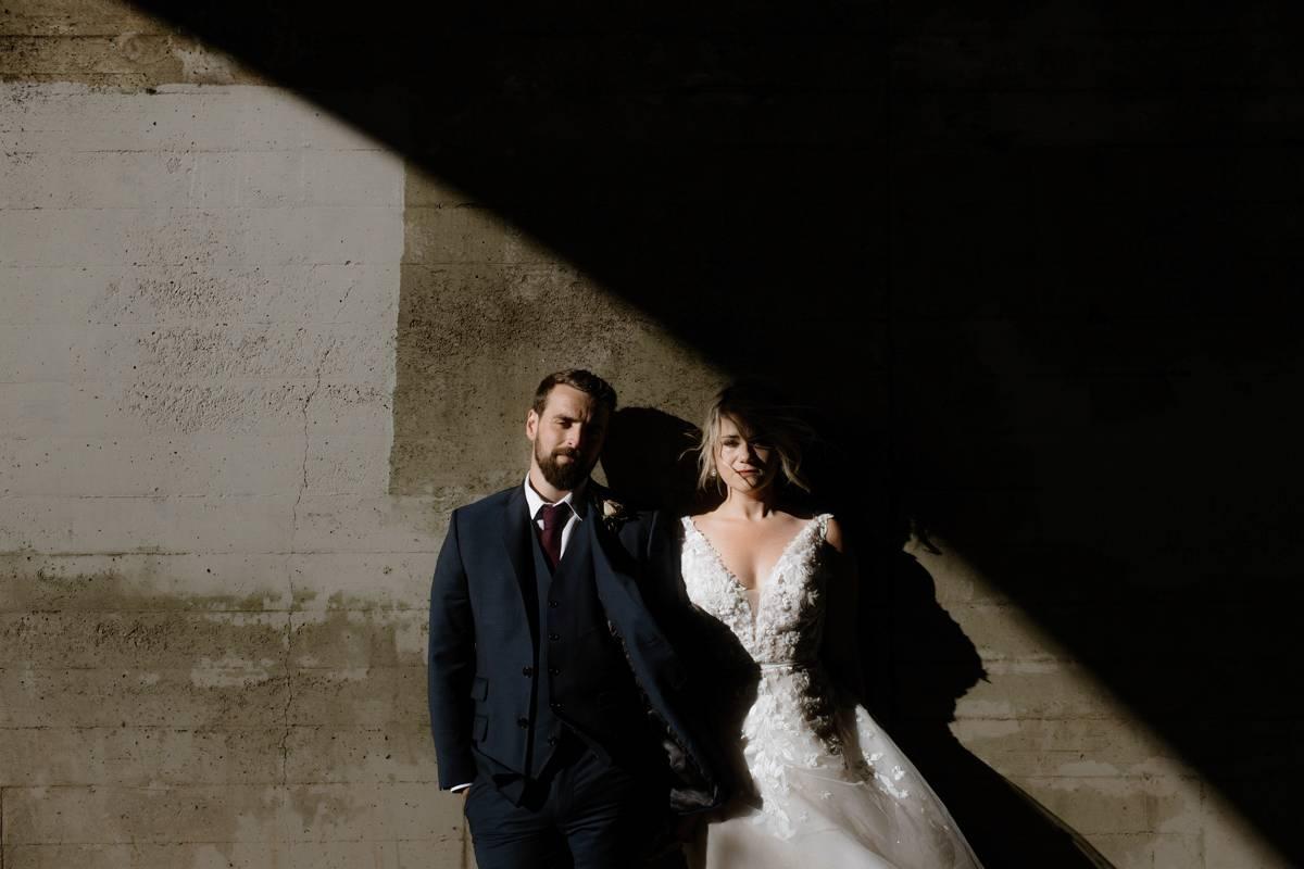 San Francisco Elopement couple portrait