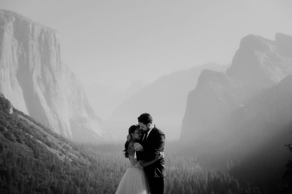 Morning Yosemite Valley portrait